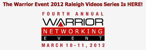 The Official Warrior Event 2012 in Raleigh