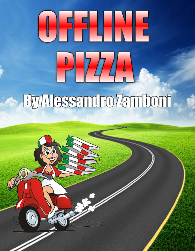 Offline Pizza on Kindle