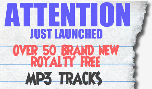 50 Royalty Free Music Tracks