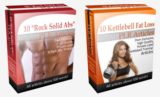 20 Fitness PLR Articles