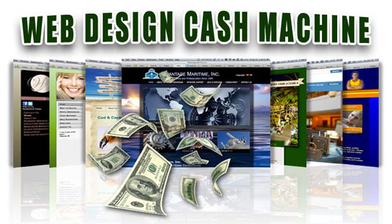 Web Design Cash Machine