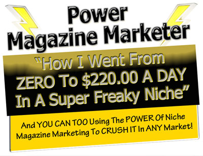 Power Magazine Marketer