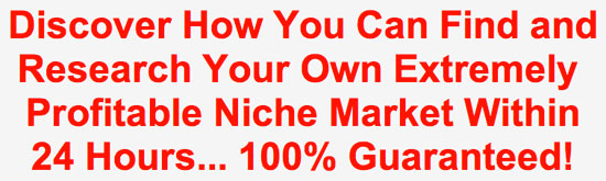 How to Find and Research a Profitable Niche Market