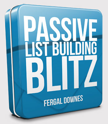 Passive List Building Blitz