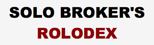 Solo Brokers Rolodex