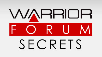 Warrior Forum Secrets