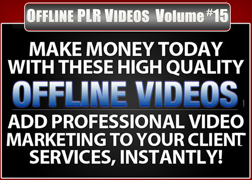 Offline PLR Videos