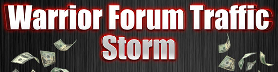 Warrior Forum Traffic Storm