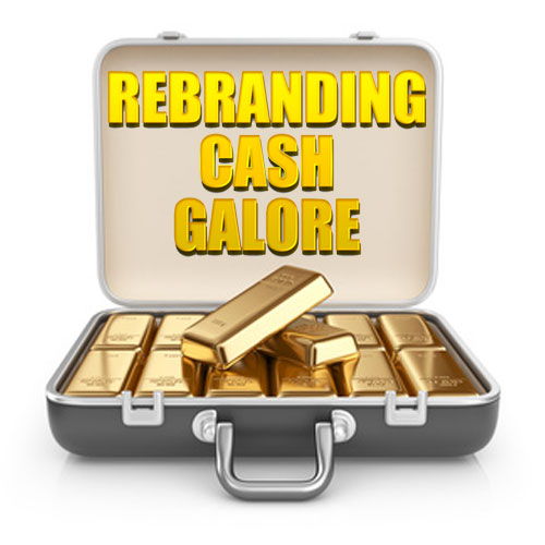 Rebranding Cash Galore