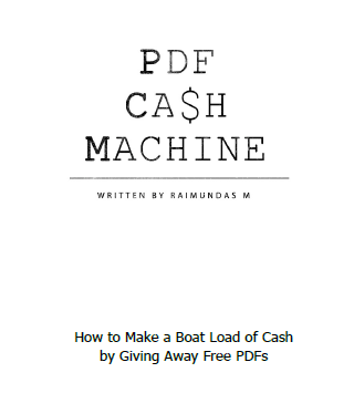 PDF Cash Machine