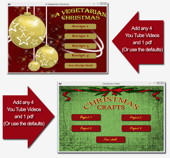 PLR Rebrandable Christmas Software