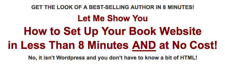 8 Minute Kindle Book Site
