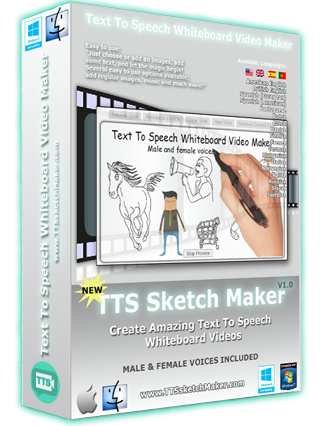 TTS Whiteboard Video Maker