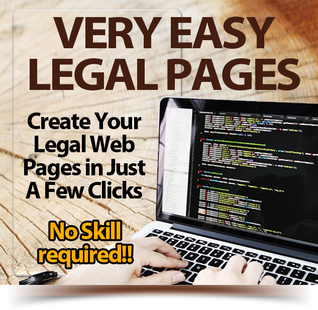Very Easy Legal Pages