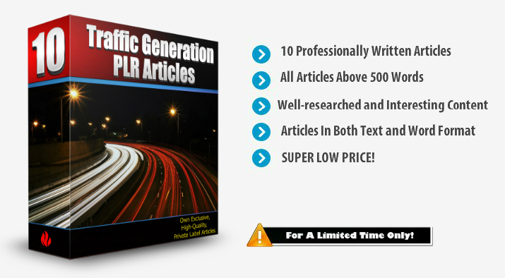 Traffic Generation PLR