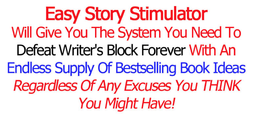 Easy Story Simulator