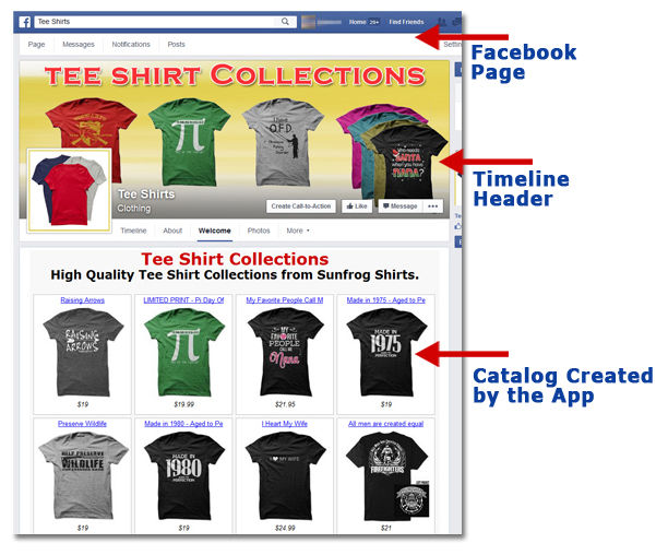 T-Shirt Catalog Builder