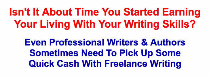 Freelance Writing Cash