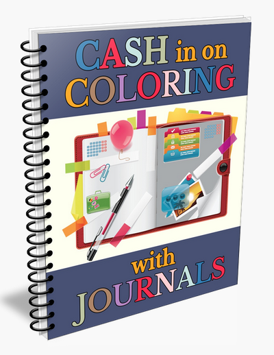 Cash In On Coloring Journals