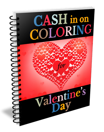 Coloring Books For Valentine's Day