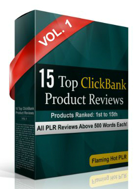 Top Clickbank Product Reviews PLR