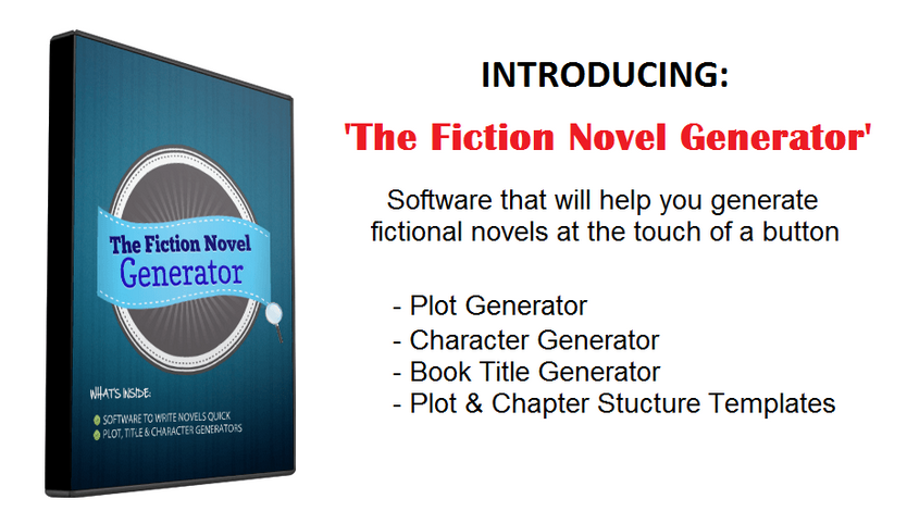 Fiction Novel Generator