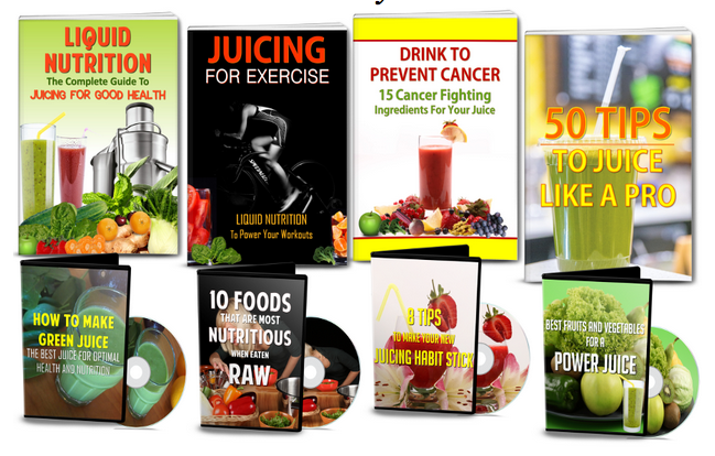 Juicing PLR Pack