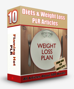 Diets & Weight Loss PLR Articles