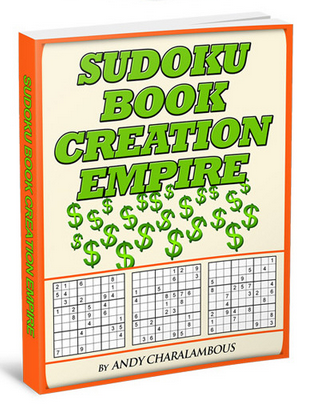 Sudoku Book Creation Empire