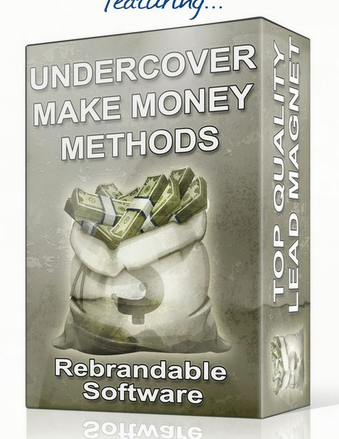 Undercover Make Money Methods Software