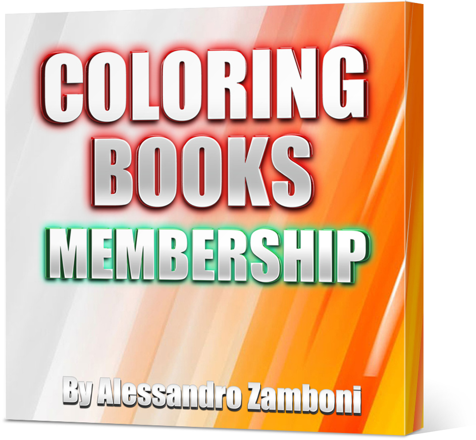 Coloring Books Membership