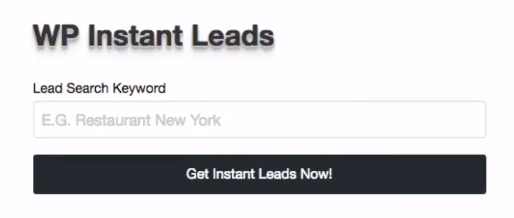 50 Leads in 30 Seconds