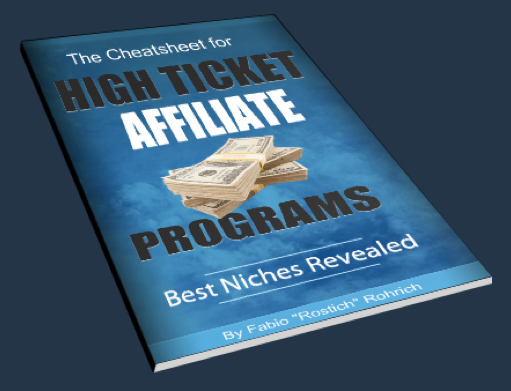 High Ticket Affiliate Programs Cheatsheet