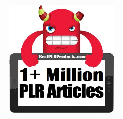 1,000,000 PLR Articles