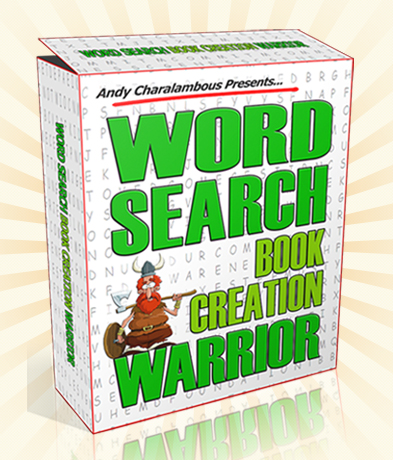 Word Search Book Creation