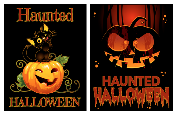 Haunted Halloween PLR