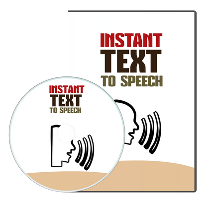 Instant Text-To-Speech PLR Software