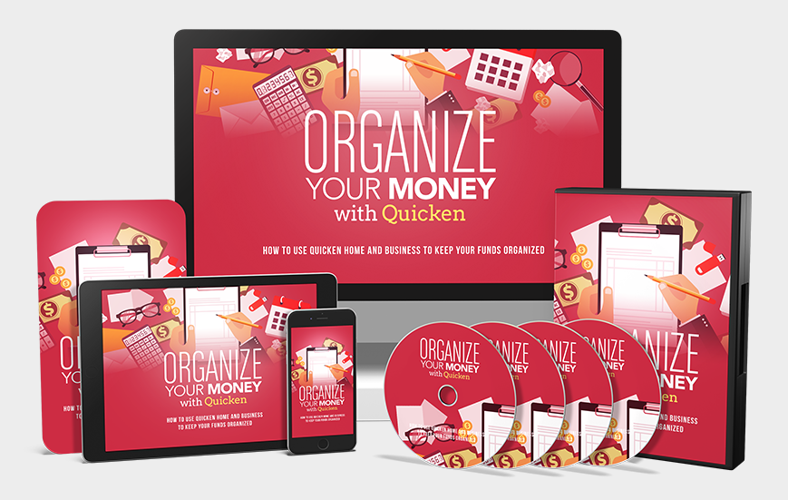 Organize Your Money With Quicken PLR Rights