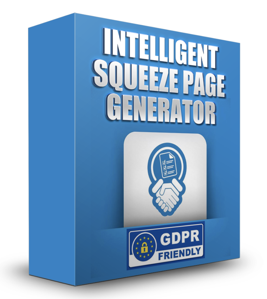 Intelligent Squeeze Page Generator